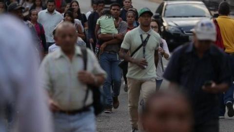 Despite blackout Venezuela has not stopped. (Credit: TelesurTV)